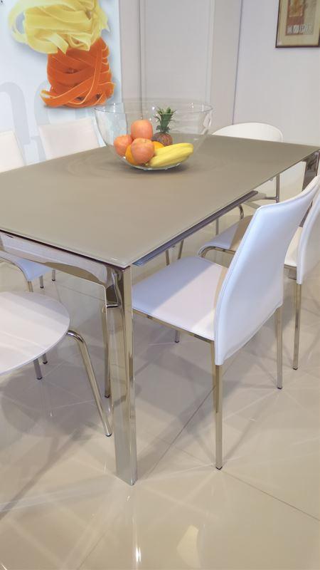 Tavolo keyo bontempi tavoli e sedie for Ferroni sassari