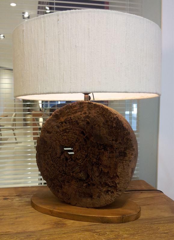 Lampada in legno illuminazione for Ferroni sassari